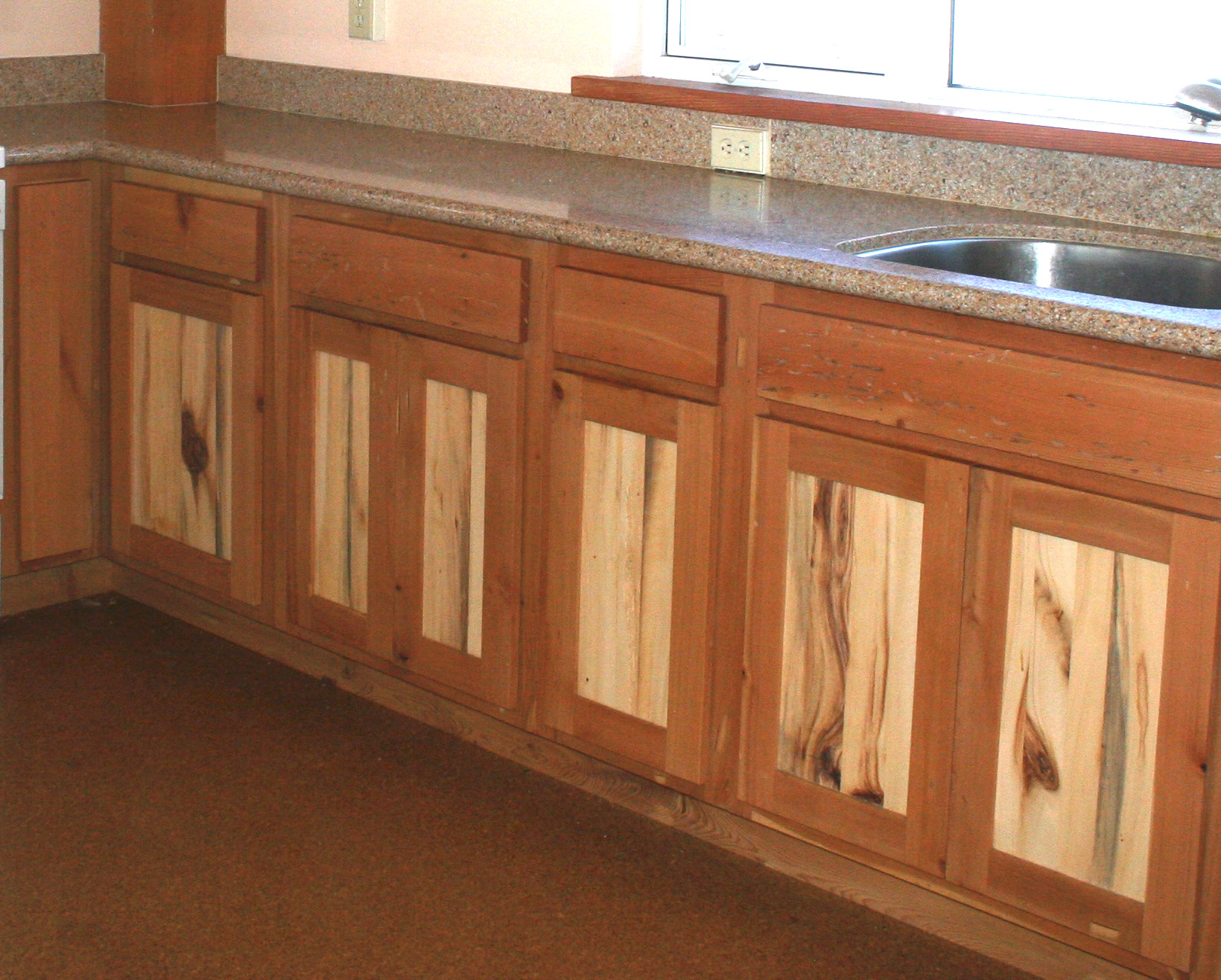 Douglas Fir And Aspen Cabinets